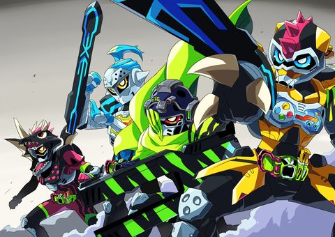 Kamen riders level 5