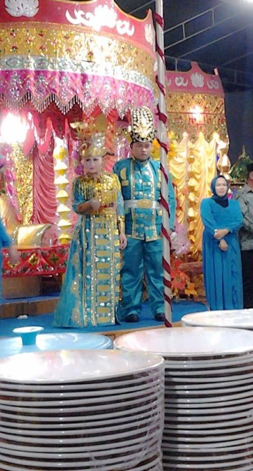 Baju adat pernikahan gorontalo