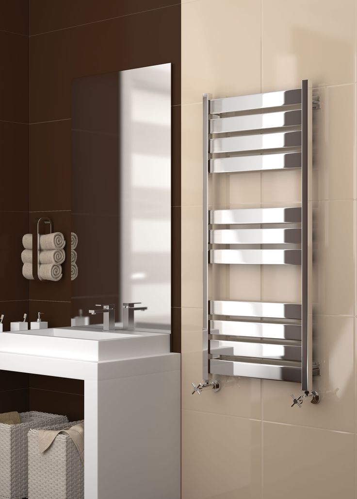 Introducing The Sunerzha Centurion Stainless Steel Heated Towel Rail.  Manufactured From Grade 304 Stainless Steel. Dual Fuel Heating Options  Available As An ...