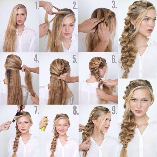 Try This Romantic Loose Side Braid Hairstyle for Your Wedding - http://www.stylishboard.com/try-this-romantic-loose-side-braid-hairstyle-for-your-wedding/