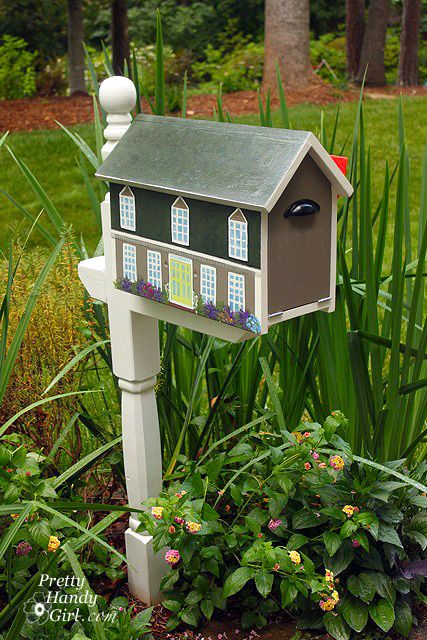 49 best Creative Mailboxes images on Pinterest Mailbox ideas