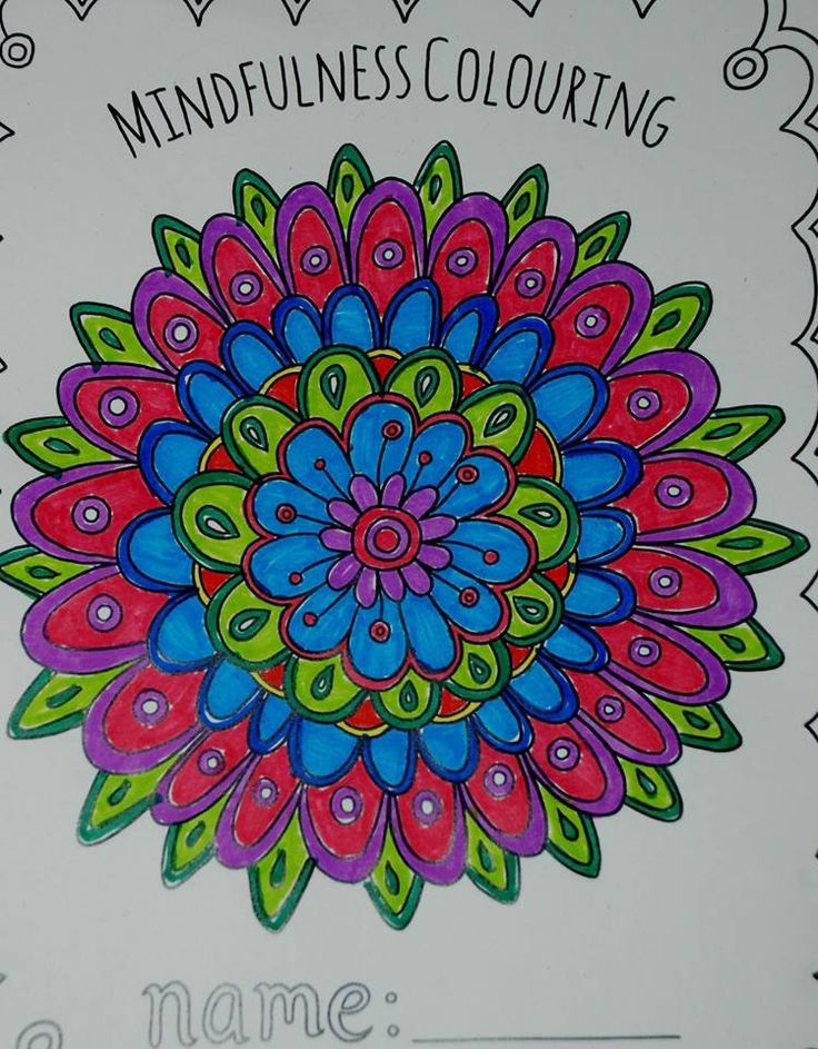 A Fun Filled Pack With Variety Of Different Mindfulness Colouring Sheets