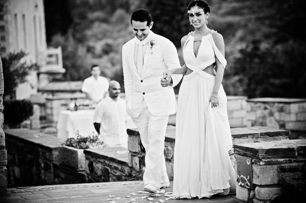 An elegant wedding in greece See more:http://www.love4weddings.gr/elegant-wedding-monemvasia-kinsterna/