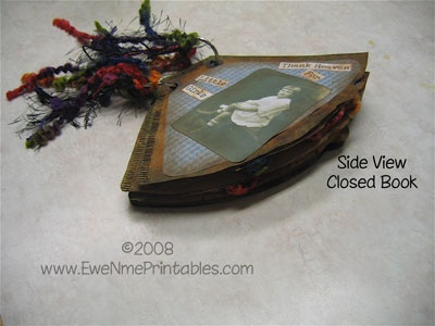 "EweNmePrintables.com - Printables For All Kinds Of Crafting. For Cadette ""Book Artist"" badge.Minis Book, Book Artists, Altered Coffee, Altered Art, Filters Minis, Minis Albums Journe, Coffee Filters, Altered Book, Cadette Book"