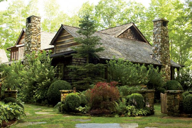 41 best southern architecture images on pinterest for Cottage builders nc