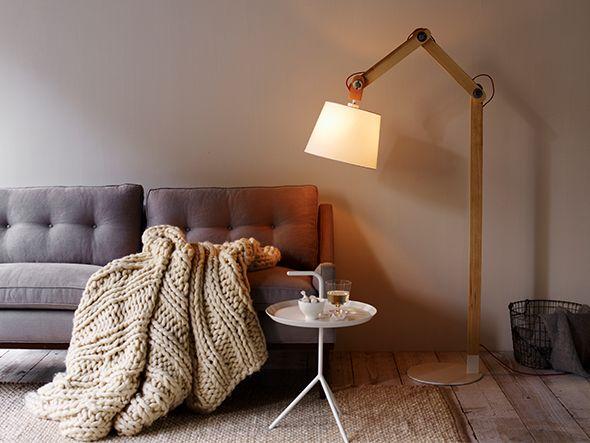 FLYMEe vert Lumiere Atria Fabric Floor Light / フライミーヴェール ルミエール アトリア ファブリック フロアライト(レッドコード)_3