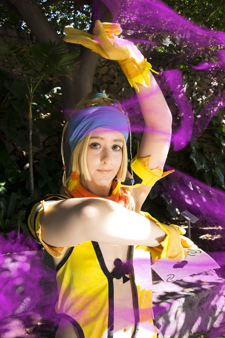 Character: Rikku   Videogame: FFX-2   Cosplayer: Rydia