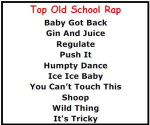 Top Karaoke Songs - Best Old School Rap Karaoke Songs - http://allpartystarz.com/pa-dj/lancaster-karaoke-dj/top-karaoke-songs/top-karaoke-songs-best-old-school-rap-karaoke-songs.html