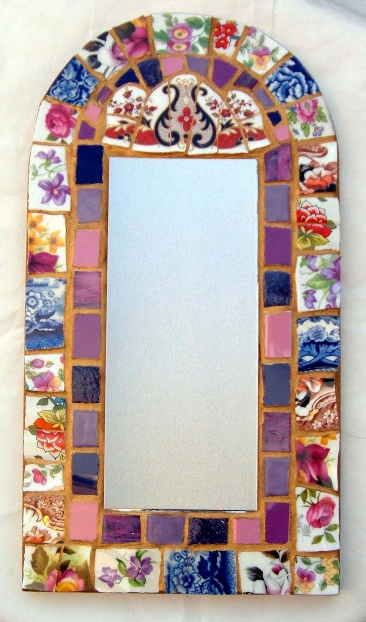 Mirror from Smashing China Mosaics