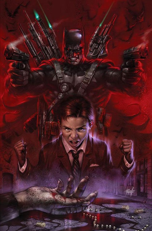 BATMAN WHO LAUGHS THE GRIM KNIGHT 1 PHILIP TAN VARIANT NM