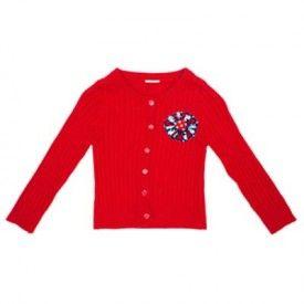 Oobi - Maxine Knit Cardigan - Red