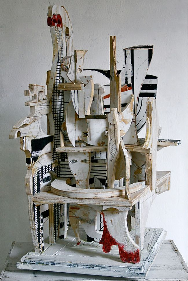 3d collage sculpture the image kid has it. Black Bedroom Furniture Sets. Home Design Ideas