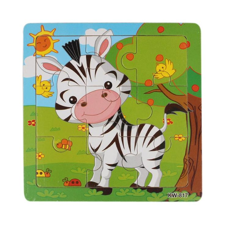 Wooden Zebra Jigsaw Toys For Kids Education And Learning Puzzles Toys – destinationarticle
