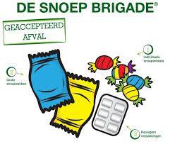 Inzamelen van snoeppapiertjes en lege snoepzakken via Terracycle Snoep Brigade