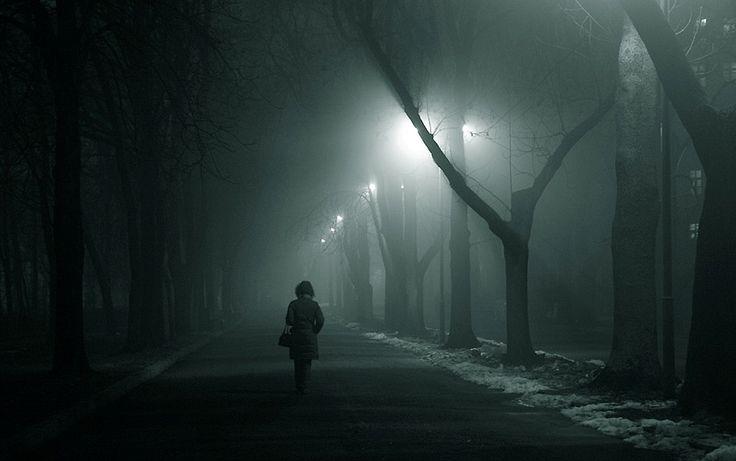 Одиночество #туман #одиночество #грусть Автор: Yaroslav Galyk