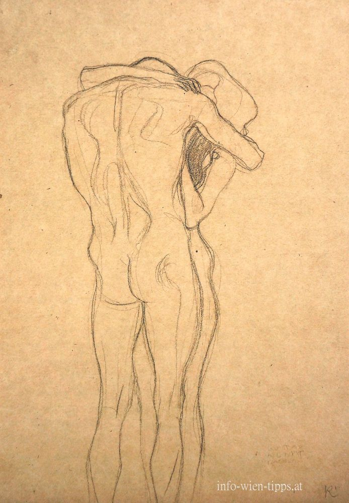 "Gustav Klimt, Study for ""Beethovenfries"", 1902"