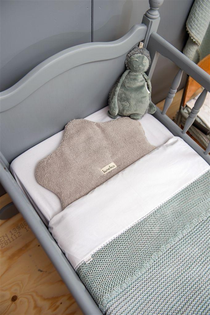 Koeka Cot blanket Porto - Sapphire