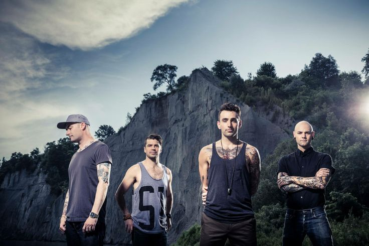 Hedley, Jacob Hoggard, Dave Rosin, Chris Crippin, Tommy Mac