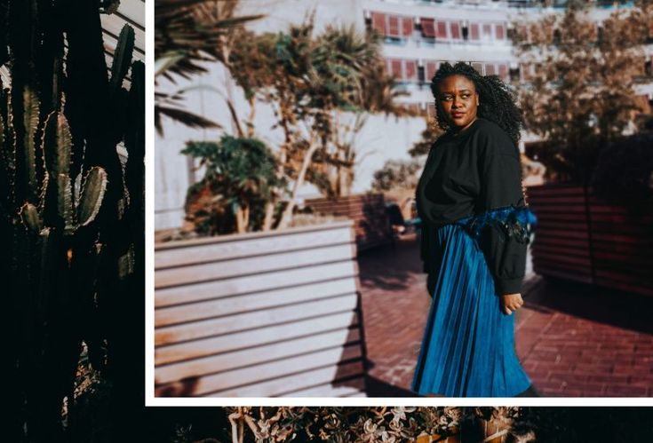 Shanice MPB How I style – Des plumes