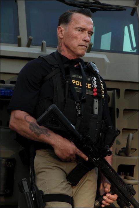 Arnold Schwarzenegger For David Ayers Ten