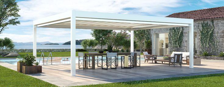 Destination Spaces: Pergotenda® Retractable Systems ... on Corradi Living Space id=96203