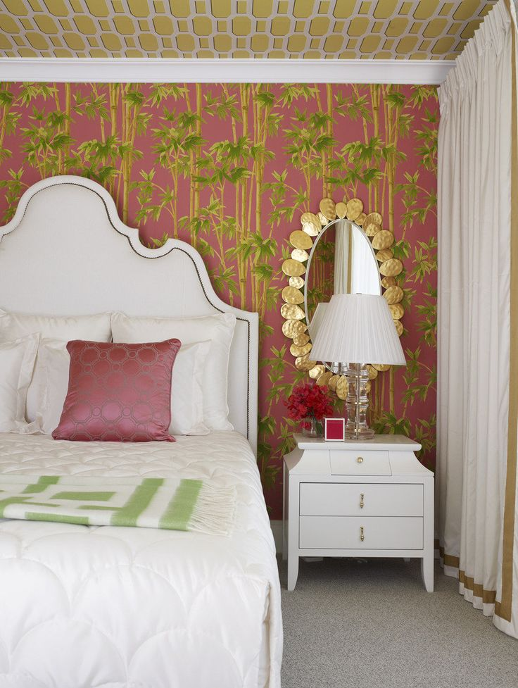 A Palm Beach Style Home Tour From Greg Natale Pink RoomPalm