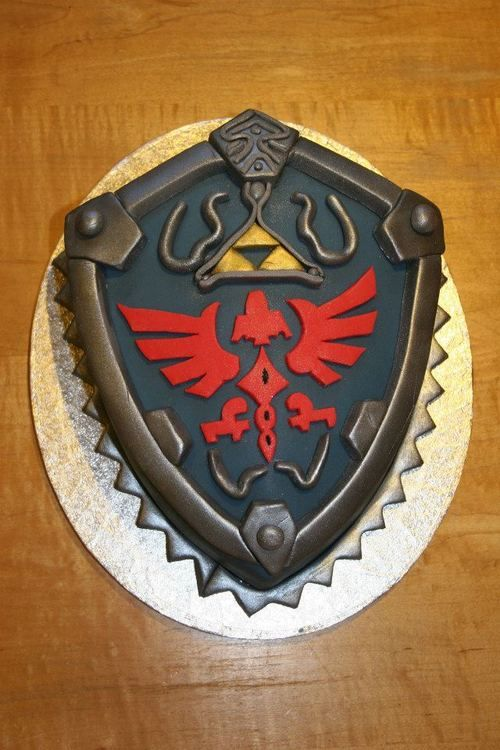 Cool Legend of Zelda video game cake