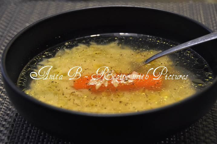 OK. I promised you my Hungarian chicken soup recipe. This is my mom's recipe. I think every family has its own recipe. Growing up my famil...