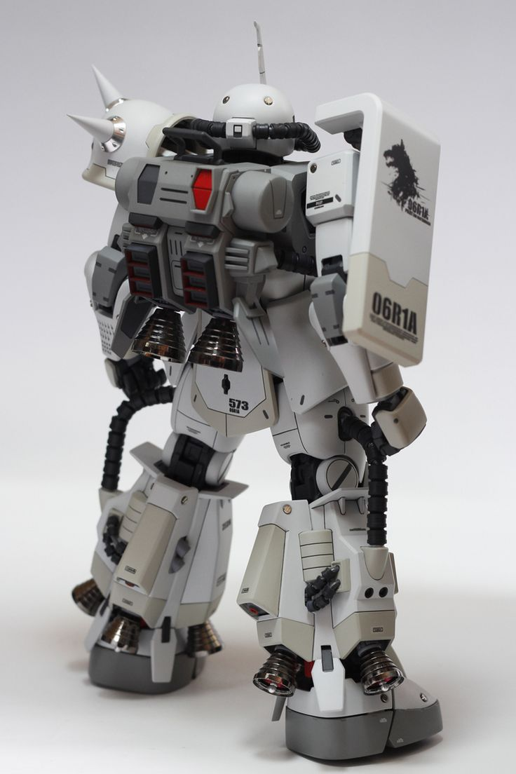 GUNDAM GUY: MG MS-06R-1A ZAKU II SHIN MATSUNAGA CUSTOM - Custom Build