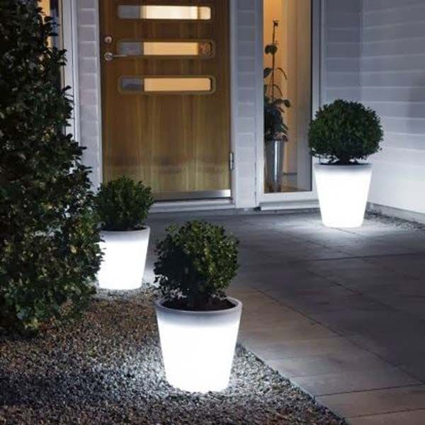 make a glow in the dark project for home decor - Dark Hardwood Garden Decorating