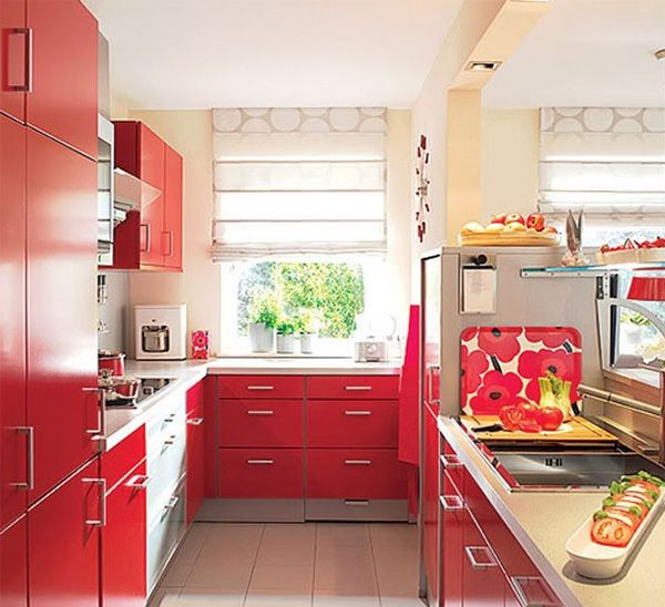 Combination of colors in the Interior of the kitchen-23