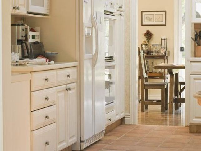 repaint kitchen cabinets antique white painting oak how to