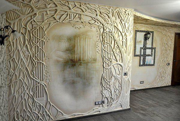 Один из самых лучших способов украсить стену помещения . Обсуждение на LiveInternet - Российский Сервис Онлайн-Дневников