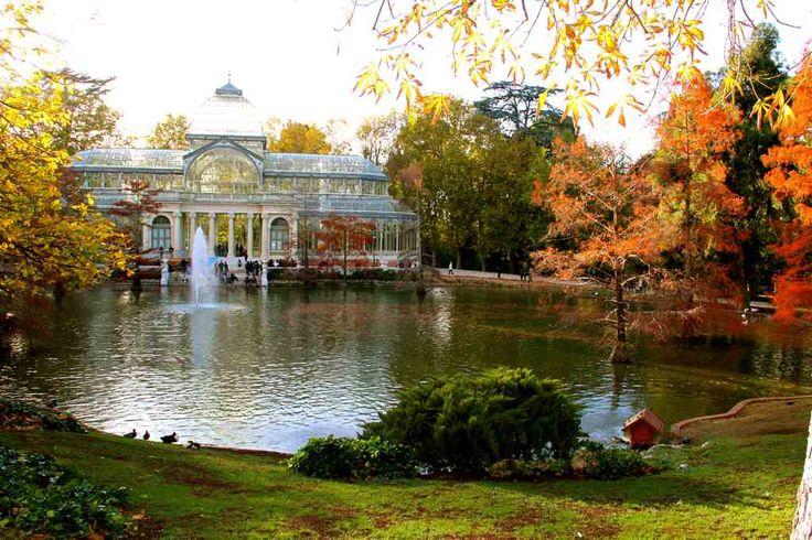 Palacio de Cristal, Parque del Buen Retiro.