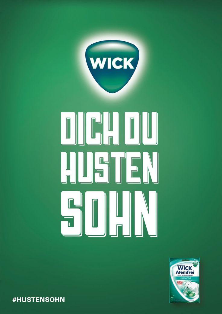 Wick Dich Du Hustensohn -  Das Motiv wurde mit einem silbernen Nagel ausgezeichnet                                                                                                                                                                                 Mehr