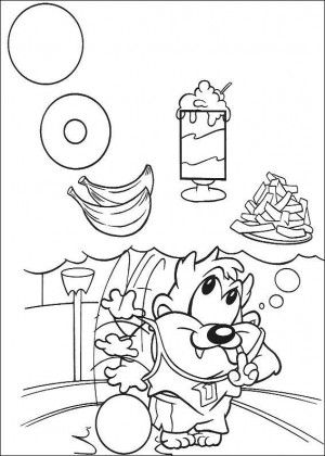 Baby Tunes coloring page 27