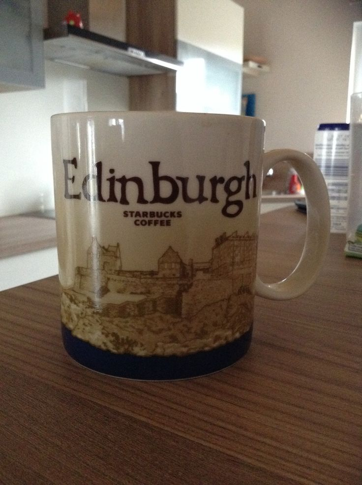 Edinburgh Starbucks City Mug