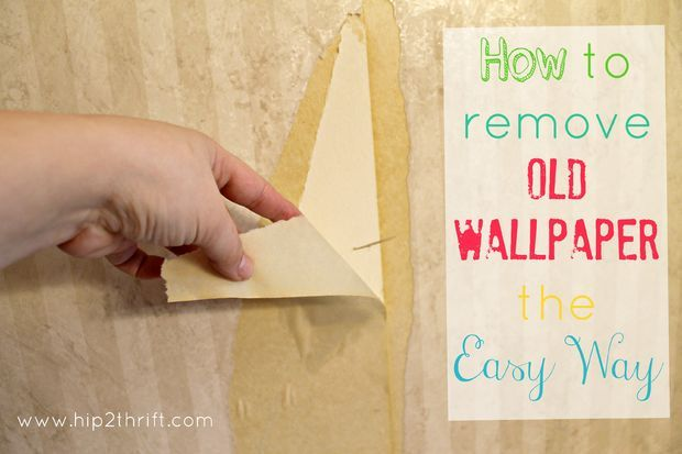 Picture of How to remove wallpaper the easy way
