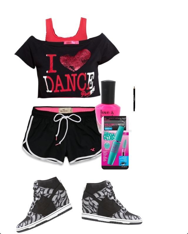 Hip hop dance outfit