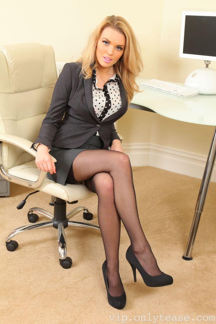 Sexy mature women in little black dress