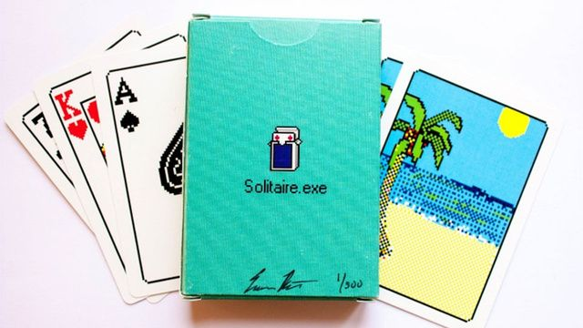 You Can Now Play Windows' Famous Solitaire Anywhere. The Train. The Bathroom. Wherever.