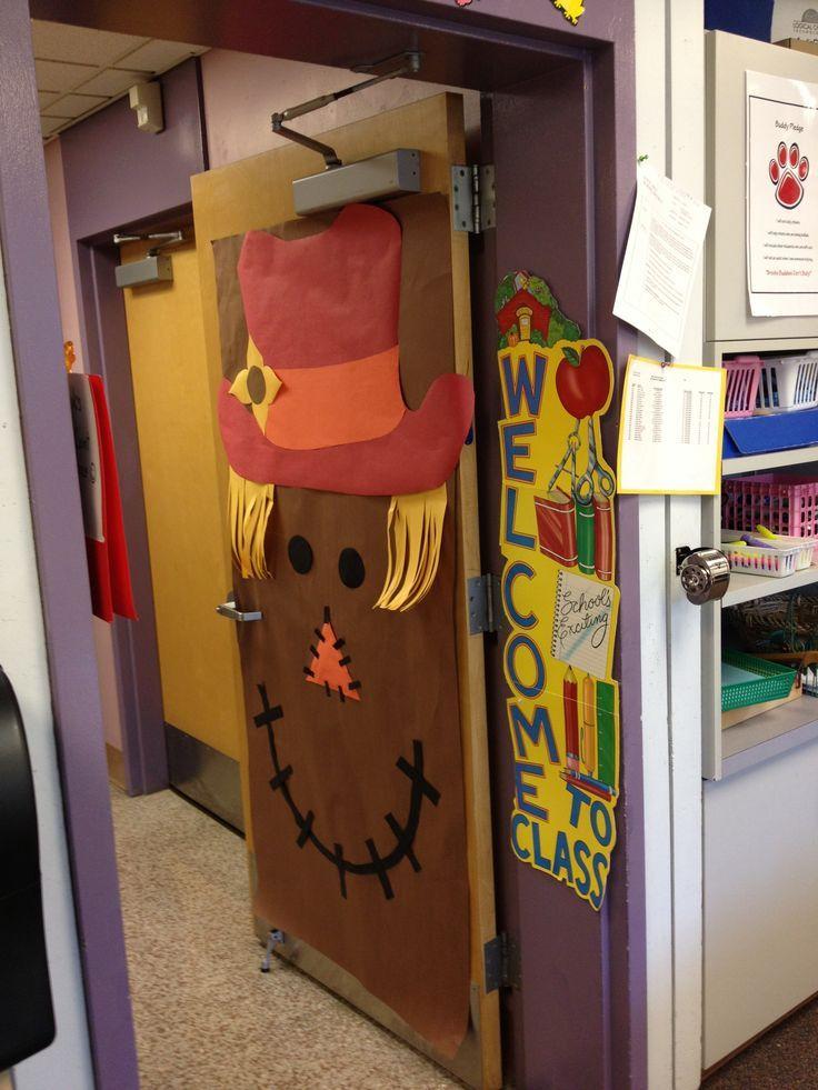 Best 25 thanksgiving classroom door ideas on pinterest for Autumn classroom decoration