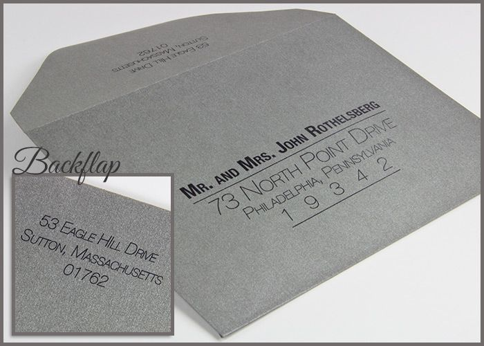 Curious Metallics Ionised Envelope With Our Old World Flap Featuring