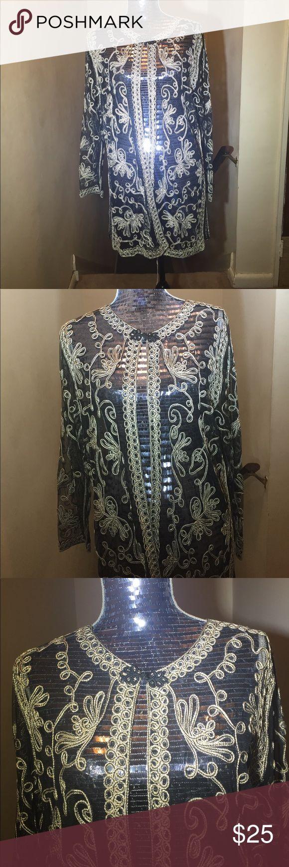 Ladies blazer Ladies black and gold blazer Sophie Chang Jackets & Coats Blazers