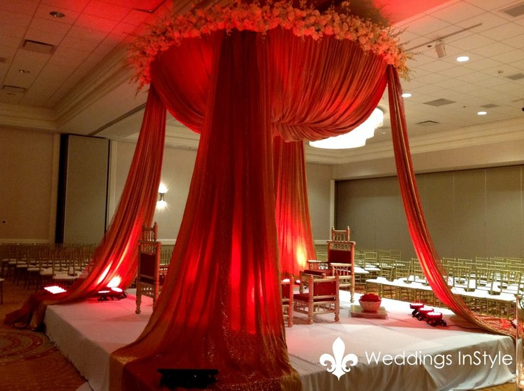 400 best weddings colourful indian images on pinterest for Asian wedding room decoration