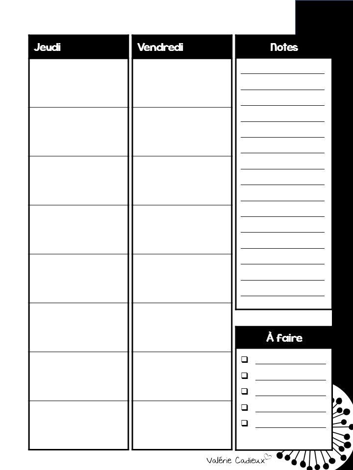 Depuis longtemps, j'ai comme projet de faire un planificateur tout en noir et blanc. Je voulais permettre à tous les profs qui n'ont pas ac...