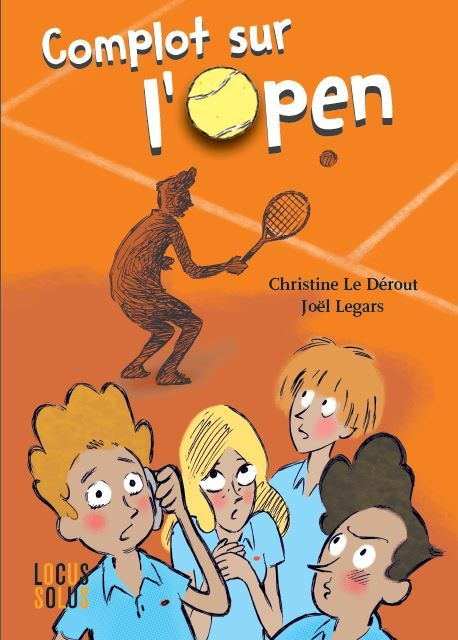 Un polar dès 8 ans. Une intrigue dans le cadre d'un Open de Tennis.