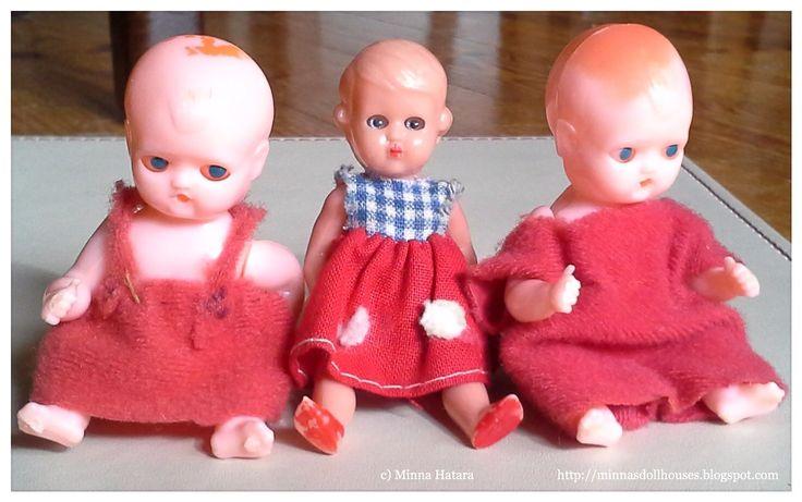 1960's dolls house dolls