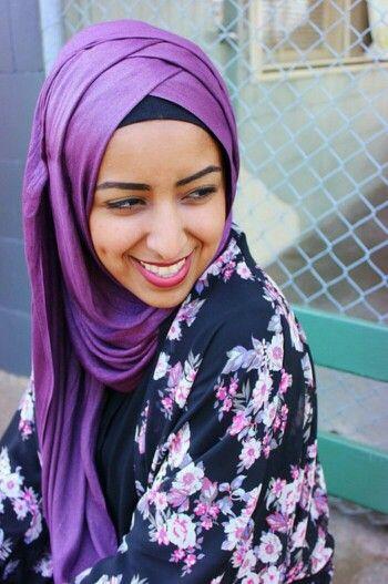Criss Cross Hijab Style