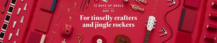Deal of the Day: Save up to 35% on Select Musical Instruments and Accessories for the Holidays for 12/14/2017 only!    Celebrate the holidays with gifts for every musician in your life.